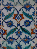 Colorful Tile Work in the Topkapi Palace, Istanbul, Turkey Photographic Print by Darrell Gulin