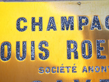 Polished Brass Sign at Winery of Louis Roederer, Reims, Champagne, Marne, Ardennes, France Photographic Print by Per Karlsson