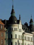 View of Building with Spires, Helsinki, Finland Photographic Print by Nancy & Steve Ross