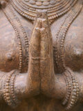 Hindu Sculpture, Bhubaneswar, Orissa, India Photographic Print by Keren Su
