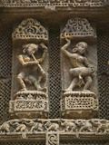 Details of Bas Relief of Orissa Dancers at Sun Temple, Konark, Orissa, India Photographic Print by Keren Su