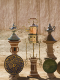 Moroccan Souvenirs, Ait Ouritane, Todra Gorge Area, Tinerhir, Morocco Photographic Print by Walter Bibikow