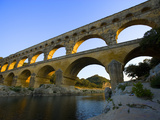 The Pont du Gard Roman Aquaduct Over the Gard River, Avignon, France Photographic Print by Jim Zuckerman