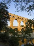The Pont du Gard Roman Aquaduct Over the Gard River, Avignon, France Photographic Print by Jim Zuckerman