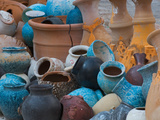 Pottery on the Street in Cappadoccia, Turkey Photographic Print by Darrell Gulin