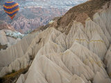 Hot Air Balloon View of the Landforms of Cappadoccia, Turkey Photographic Print by Darrell Gulin