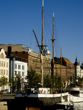 Sailing Ship on Inner Harbor, Helsinki, Finland Photographic Print by Nancy & Steve Ross