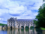 16th Century Castle on the River Cher, Chateau de Chenonceau, Loire Valley, France Photographic Print by Jim Zuckerman