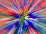 Zoom Abstract of Pansy Flowers Photographic Print by Charles R. Needle