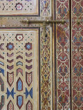 Door Detail, Zawiya Moulay Ali Ash-Sharif Mosque, Tafilalt, Rissani, Morocco Photographic Print by Walter Bibikow