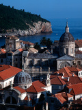 Dalmation Coast on the Adriatic Sea, Medieval Walled City of Dubrovnik, Serbia Photographic Print by Russell Gordon