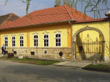 House in Tokaj Village, Mad, Hungary Fotoprint van Per Karlsson