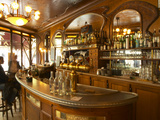 Bistrot Du Peintre, Art Nouveau Decor, Paris, France Photographic Print by Per Karlsson