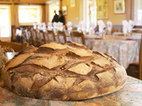 Loaf of Country Bread, Ferme De Biorne, Duck and Fowl Farm, Dordogne, France Photographic Print by Per Karlsson