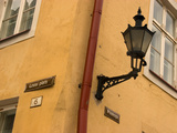 Street Lamp Detail, Tallinn, Estonia Photographic Print by Nancy & Steve Ross