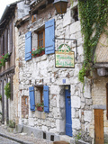 Old Town with Stone Houses, Le Colombier De Grando, Place De La Myrpe Photographic Print by Per Karlsson