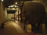 Fermentation Vats in Winery, Domaine Saint Martin De La Garrigue, Montagnac Photographic Print by Per Karlsson
