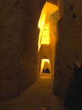 Wine Cellar, Old Chalk Quarry, Champagne Ruinart, Reims, Marne, Ardennes, France Photographic Print by Per Karlsson