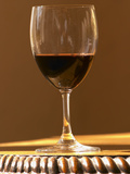 Glass of Red Chateau Belgrave, Haut-Medoc, Grand Crus Classee, France Photographic Print by Per Karlsson