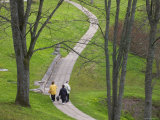 Path in the Park, Turaida Castle, Sigulda, Latvia Photographic Print by Keren Su