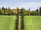 Tuscan Villa near the Town Pienza, Italy Photographic Print by Dennis Flaherty