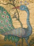 Peacock Mosaic, Eleftherotria Monastery, Macherado, Zakynthos, Ionian Islands, Greece Fotografisk tryk af Walter Bibikow