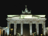 Brandenburg Gate, Berlin, Germany Photographic Print by Walter Bibikow