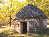 Country Hut of Stone (Borie), Truffiere De La Bergerie, Ste Foy De Longas, Dordogne, France Photographic Print by Per Karlsson