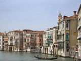 View of Gondola on the Grand Canal, Venice, Italy Photographic Print by Dennis Flaherty