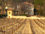 Winery Building at Chateau Saint Cosme, Gigondas, Vaucluse, Rhone, Provence, France Photographic Print by Per Karlsson