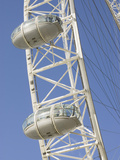 London Eye Ferris Wheel, London, England Photographic Print by Inger Hogstrom