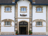 Entrance to Champagne Ruinart and Facade of Winery Building, Reims, Marne, France Photographic Print by Per Karlsson