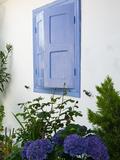 Building Detail, Manolates, Samos, Aegean Islands, Greece Photographic Print by Walter Bibikow