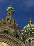 Two Towers, Church of the Savior on the Spilled Blood, St. Petersburg, Russia Photographic Print by Nancy & Steve Ross