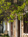 House Detail, Troianata, Kefalonia, Ionian Islands, Greece Photographic Print by Walter Bibikow