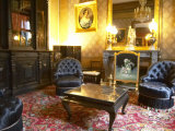 Living Room Salons in Mansion at Champagne Deutz, Ay, Vallee De La Marne, Ardennes, France Photographic Print by Per Karlsson