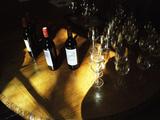 Wine Tasting of Chateau Calon, Montagne Saint St. Emilion, Bordeaux, Gironde, France Photographic Print by Per Karlsson