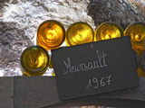 Wine Cellar and Bottles of Meursault, Maison Louis Jadot, Beaune, Burgundy, France Photographic Print by Per Karlsson