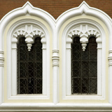 Window Detail on Alexander Nevsky Cathedral, Tallinn, Estonia Photographic Print by Nancy & Steve Ross