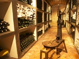 Bottle Aging Cellar, Bodega Pisano Winery, Progreso, Uruguay Photographic Print by Per Karlsson