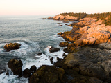 Rocky Coast of Isle Au Haut, Acadia National Park, Maine, USA Fotografie-Druck von Jerry & Marcy Monkman