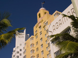 National, Delano, and Sagamore Hotels in Art Deco Style, South Beach, Miami, Florida, USA Photographic Print by Nancy &amp; Steve Ross