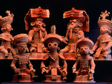 Offering Vessels, Copan, Maya, Mexico Photographic Print by Kenneth Garrett
