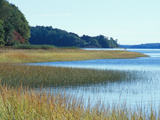 Salt Marsh Bordering the Royal River, Maine, USA Photographic Print by Jerry & Marcy Monkman