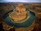 Horseshoe Bend Showing Erosion by the Colorado River, Arizona, USA Photographic Print by Jim Zuckerman