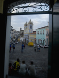 Largo Do Peurinho, Colonial Buildings, Pelourinho Area of Salvador Da Bahia, Brazil Photographic Print by Stuart Westmoreland
