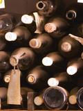 Bottles in Tasting Room, Bodega Pisano Winery, Progreso, Uruguay Photographic Print by Per Karlsson