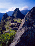 Scenic View of the Ruins of Machu Picchu in the Andes Mountains, Peru Photographic Print by Jim Zuckerman