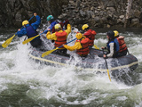 Rafting Action on the Salmon River, Idaho, USA Photographic Print by Dennis Flaherty
