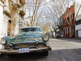 Desoto Station Wagon Car, Montevideo, Uruguay Photographic Print by Per Karlsson